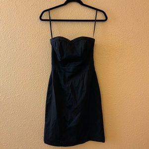 H&M Strapless Little Black Mini Dress